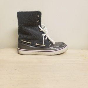Sperry boots Faux Fur SZ.8